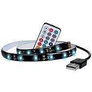 Dekoratívny LED pásik Solight LED RGB pásik pre TV, 2× 50 cm, USB, vypínač, diaľkový ovládač