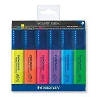 STAEDTLER Textsurfer classic 364, 6 ks - Zvýrazňovač