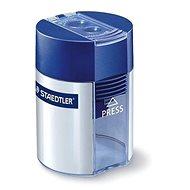 STAEDTLER na 2 ceruzky so zásobníkom, modré - Strúhadlo