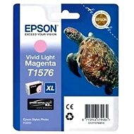 Cartridge Epson T1576 svetlá purpurová - Cartridge