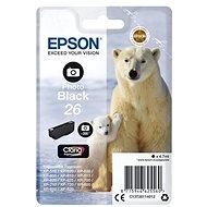 Epson T2611 černá foto - Cartridge
