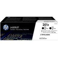 HP CF400XD č. 201X 2-pack čierny