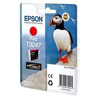 Cartridge Epson T3247 červená