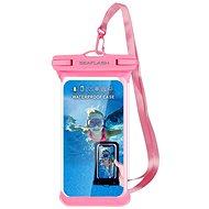 """Seaflash vodoodolné TPU puzdro pre smartfón do 6,5"""" ružové - Puzdro na mobil"""