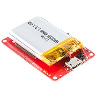 SparkFun Block pre Intel Edison - Battery