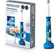 SENCOR SOC 0910BL - Elektrická zubná kefka pre deti