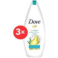DOVE Go Fresh Pear & Aloe Vera Shower Gel 3× 250 ml