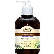 GREEN PHARMACY Gel na intímnu hygienu ukľudňujúca šalvia a alantoin 370 ml - Sprchový gél