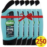 RADOX Men Feel Strong 6 × 250 ml