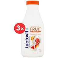 LACTOVIT Fruit Broskev a Grep 2× 500 ml - Sprchový gél