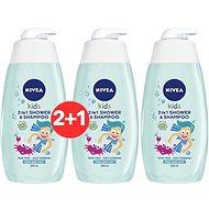 NIVEA Kids 2 in 1 Shower & Shampoo Boy 500 ml 2 + 1