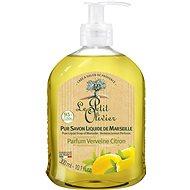 LE PETIT OLIVIER Pure Liquid Soap of Marseille - Verbena Lemon Perfume 300ml - Liquid Soap