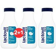 LACTOVIT Men DeoAction osviežujúci 3 v 1 sprchový gél 300 ml 2+1