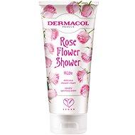 DERMACOL Flower Shower Cream Ruža, 200 ml - Sprchový krém