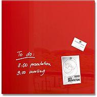 SIGEL Artverum 48 × 48 cm červená - Magnetická tabuľa