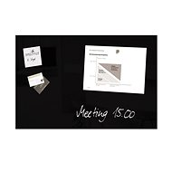 SIGEL Artverum 48 × 78 cm čierna - Magnetická tabuľa