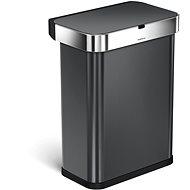 Simplehuman ST2035, 58 L, čierna oceľ - Odpadkový kôš