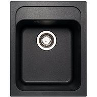 Sinks CLASSIC 400 Metalblack - Granitový drez