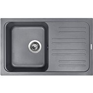 Sinks CLASSIC 740 Titanium - Granitový drez