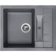 SINKS CRYSTAL 615 Titanium - Granitový drez