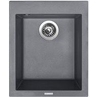 Sinks CUBE 410 Titanium - Granitový drez