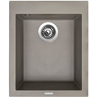 Sinks CUBE 410 Truffle - Granitový drez