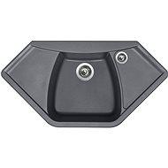 Sinks NAIKY 980 Titanium - Granitový drez