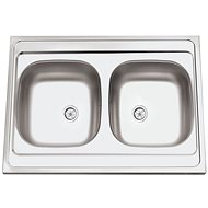SINKS CLP-A 800 DUO M 0,5 mm matný - Drez