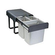 Sinks EKKO 40 2 × 8 l + 1 × 16 l - Odpadkový kôš