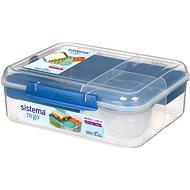 SISTEMA 1,65 L Bento Lunch To Go Blue Online Range - Desiatový box