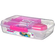 SISTEMA 1,76 l Bento Box To Go Pink Online Range - Desiatový box