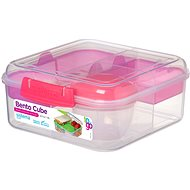 SISTEMA 1,25 l Bento Cube To Go Pink Online Range