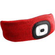 SIXTOL 45l m, nabíjacia, USB, univerzálna veľkosť, červená - Čelenka