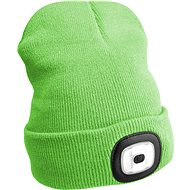 SIXTOL 45 lm, nabíjacia, USB, univerzálna veľkosť, fluorescenčná zelená