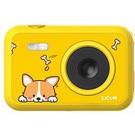 SJCAM F1 FunCam žltá, dog - Outdoorová kamera