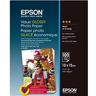 EPSON Value Glossy Photo Paper 10 × 15 cm 100 listov - Fotopapier