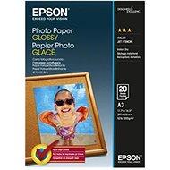 Epson Photo Paper Glossy A3 20 listov - Fotopapier