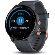 Garmin vívoactive 3 Music Granite Blue Rose Gold - Smart hodinky