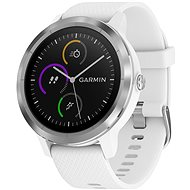 Garmin vívoactive 3 White Silver - Smart hodinky
