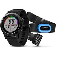 Garmin Fenix 5 Sapphire, Black band, Performer Bundle - Smart hodinky