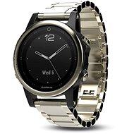 Garmin Fenix 5S Sapphire, goldtone, Metal band - Smart hodinky
