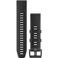 Garmin QuickFit 22 silikónový čierny - Remienok