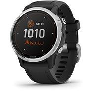 Smart hodinky fenix 6S Solar, Silver, Black Band