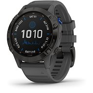 fenix 6 Pro Solar, Black, Slate Gray Band - Smart hodinky