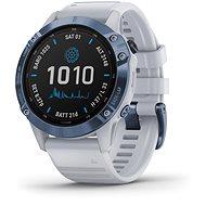 fenix 6 Pro Solar, Mineral Blue, Whitestone Band - Smart hodinky