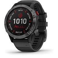 fenix 6 Pro Solar, Slate Gray, Black Band - Smart hodinky