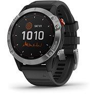 fenix 6 Solar, Silver, Black Band - Smart hodinky