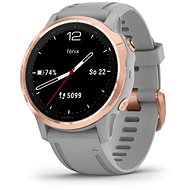 Garmin Fenix 6S Sapphire, RoseGold/Gray Band (MAP/Music) - Smart hodinky