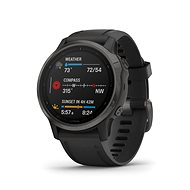 Garmin Fenix 6S Sapphire, Gray/Black Band (MAP/Music) - Smart hodinky