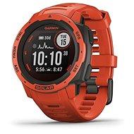 Smart hodinky Garmin Instinct Solar, Flame Red